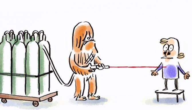 À quand le sabre laser ?