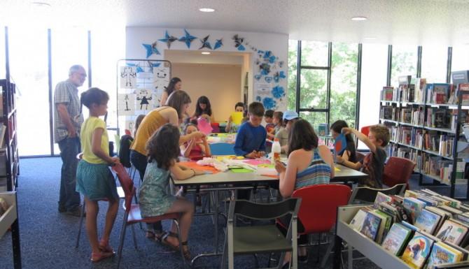Brécé - un atelier avec des enfants