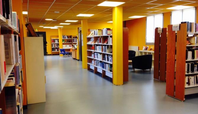 Espaces de la médiathèque de Chartres