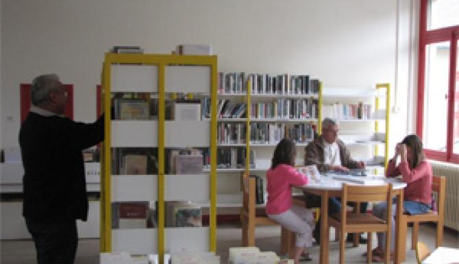 espaces de la bibliothèque