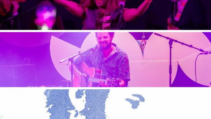 Montage photo des trois gagnants du prix 2018.