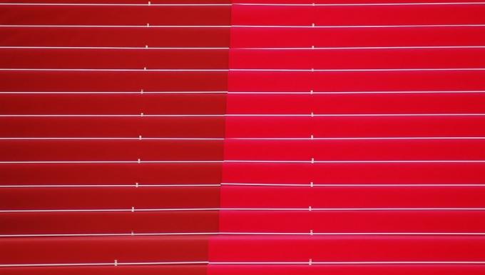 Gros plan des marches du Festival des Cannes.