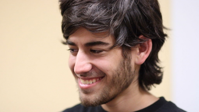 Aaron Swartz au Boston Wikipedia Meetup le 18 août 2009.