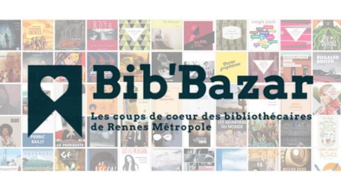 capture d'écran de la mosaïque de bib'bazar, sous forme de cartes représentant des couvertures o udes jaquettes de livres