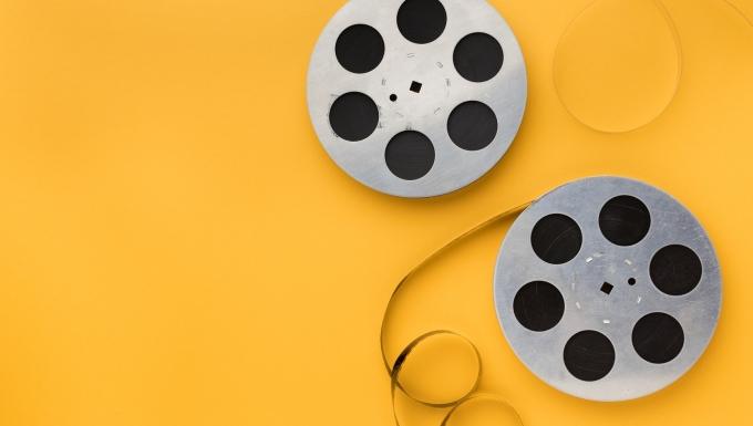 Deux bobines de films.