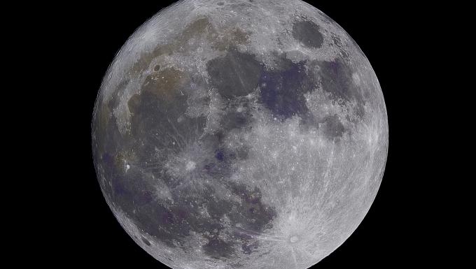 Photo de la pleine lune