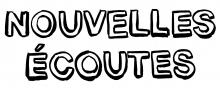 Logo Nouvelles écoutes : lettres stylisées noires sur fond blanc.