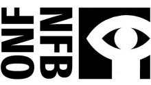 Logo ONF : lettres stylisées noires sur fond blanc. Silhouette blanche sur fond noir d'un personnage dont les bras constituent un oeil
