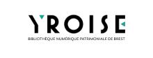 """Logo de la médiathèque Numérique. Le mot """"YROISE"""" en majuscules"""