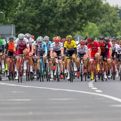 Peloton cycliste du Tour de France 2017