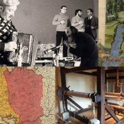 Montage de photos d'archives patrimoniales bretonnes.