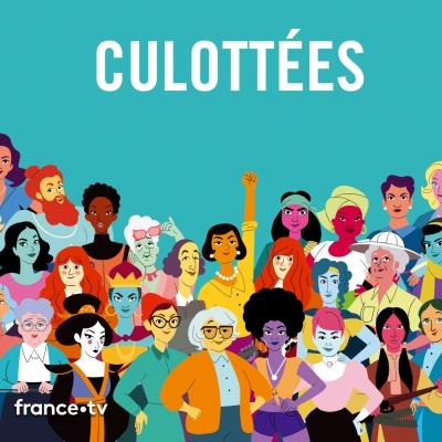 Illustration regroupant les 30 personnages féminins de la websérie.