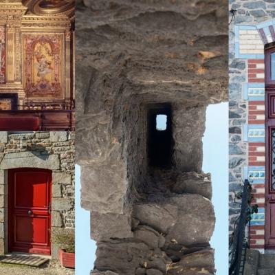 Montage de photos d'architecture bretonne