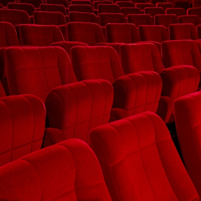 Sièges d'une salle de cinéma