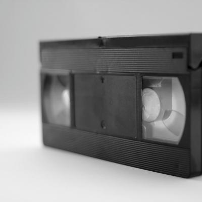 Une cassette vidéo VHS