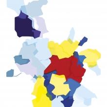Carte de Rennes Métropole