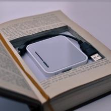 Bibliobox insérée dans un ouvrage