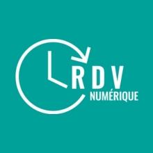 Logo officiel du RDV Numérique : un pictogramme d'horloge