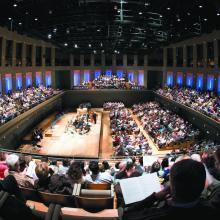 Salle de concert de la Philharmonie de Paris