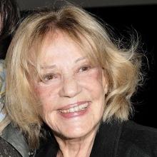 Portrait de Jeanne Moreau en 2009