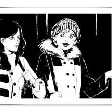 capture de la bande dessinée sur laquelle on voit deux jeunes femmes qui discutent