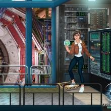 Illustration d'une séquence du jeu.